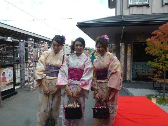Hotel Keihan Kyoto Grande: Traditional Dress