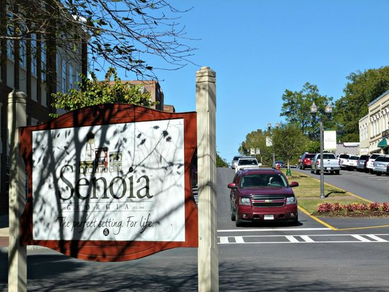 Senoia Coffee & Cafe: Charming small town