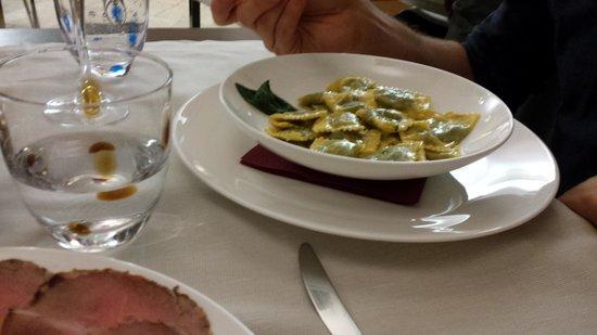 Osteria Del Vicoletto : Ravioli
