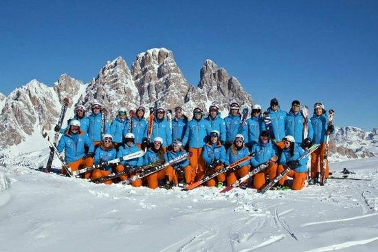 Scuola Sci Azzurra Cortina