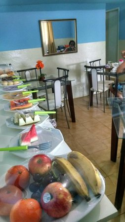 Pousada Da Rita : Café da manhã arrumadinho!