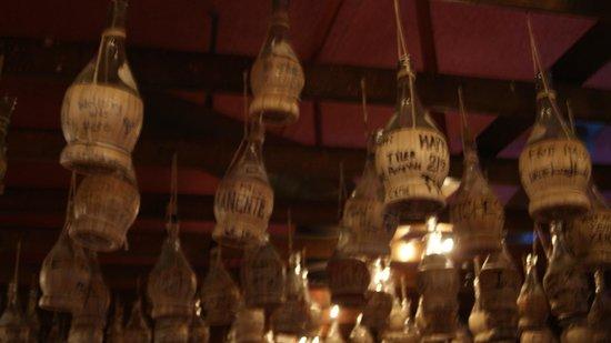 Filippi's Pizza Grotto : bottles