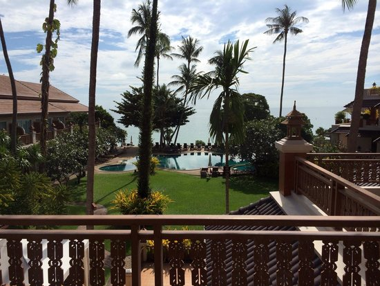 Aloha Resort: View from our window