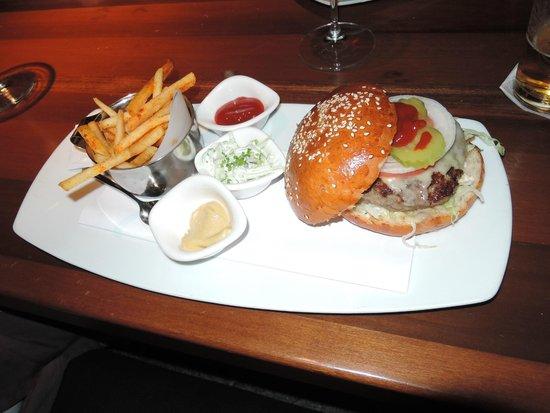 Bryan's: Burger and fries