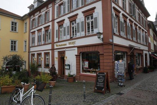 Phuket Thai Restaurant, Heidelberg. Face au Vieux Pont.