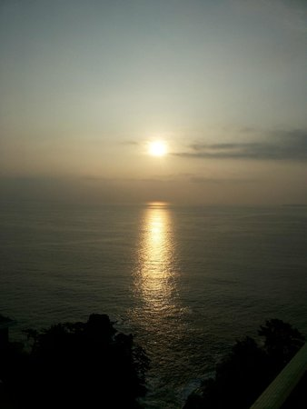 Hotel New Akao: Nascer do sol visto do quarto