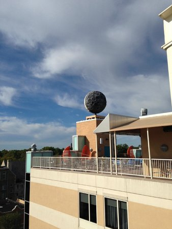 Moonrise Hotel : Rooftop