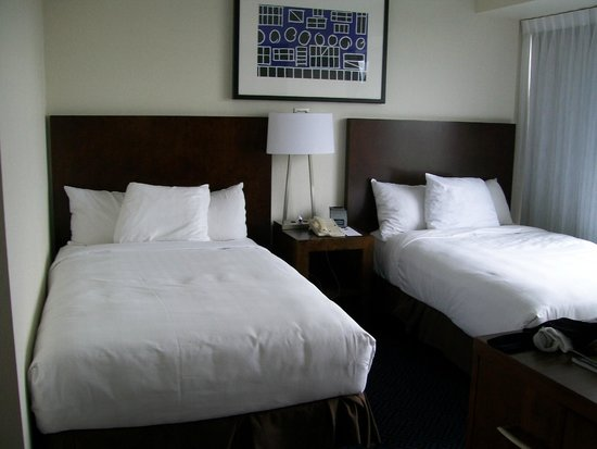 Hyatt Regency Lisle near Naperville: 2 queen beds in our room