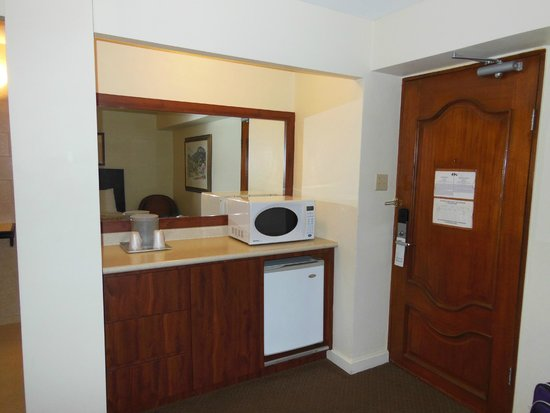 Hotel Miramar: bedroom area