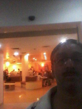 Ginger Vadodara: Food court at background