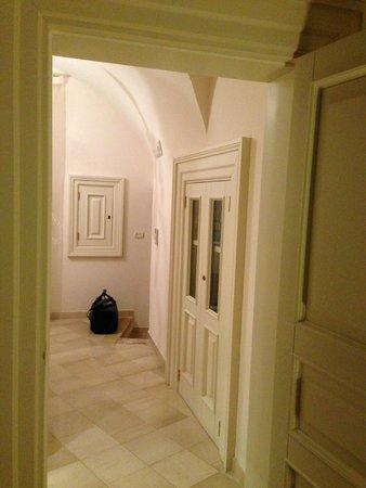 Palazzo Santorelli : L'ingresso