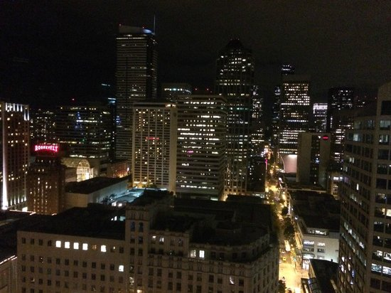 Night View Picture Of The Westin Seattle Seattle Tripadvisor