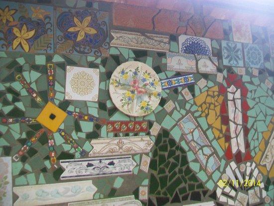 Caminho das Serpentes - Parque de Mosaicos