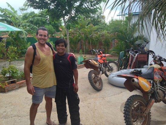 Siem Reap Dirt Bikes Day Tours : Sophal and I