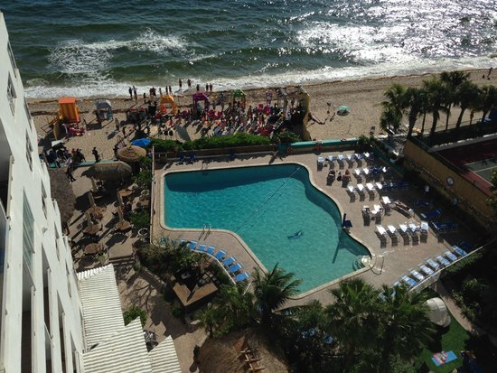 View From Balcony Picture Of Ocean Manor Beach Resort Hotel Fort