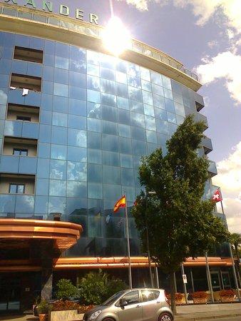 Hotel Alexander Palace: vorderansicht