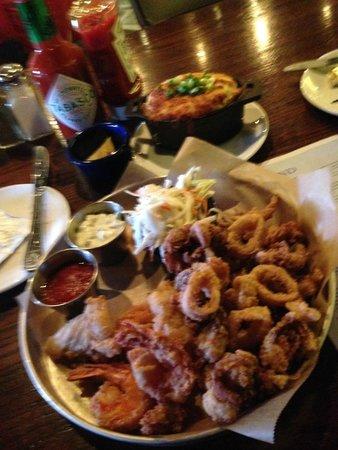 Legal Sea Foods : Fisherman's Platter Gluten Free