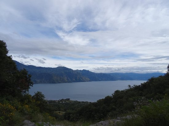 View from early on in the hike up Volcan San Pedro.