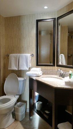 Holiday Inn Express Hunt Valley: bathroom