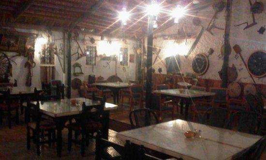 Restaurant Essofra: Foto della veranda