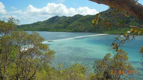 Snake Island (Vigan Island): Snake desde el mirador