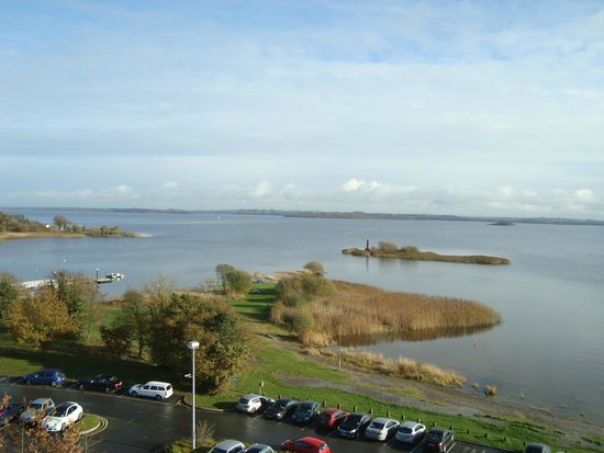 Hodson Bay Hotel : From room window