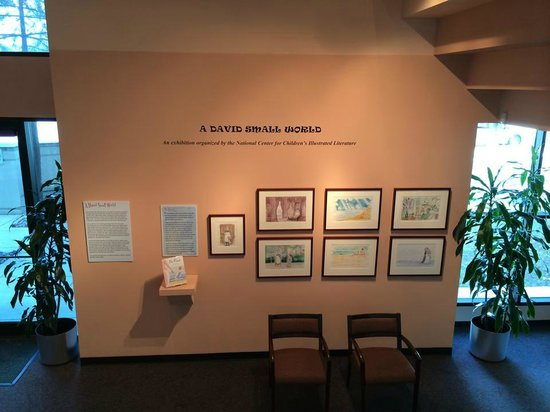 Irving Arts Center: Opening Wall of the Special Exhibit