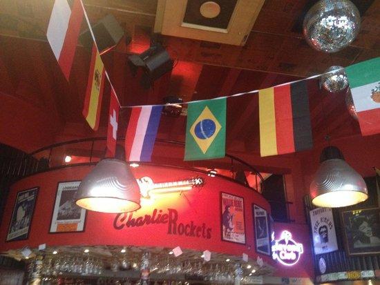 Charlie Rocket's: Linda decoração