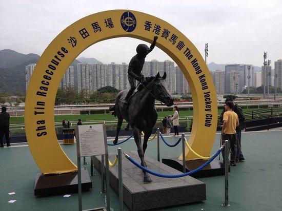 Sha Tin Racecourse : Lunar New Year Racing Day of 2014