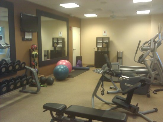 Hilton Garden Inn Palm Beach Gardens: Mini Gym