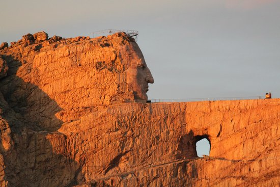 Crazy Horse, SD: Close Up