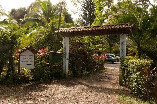 Cabinas Iguana: Entrance