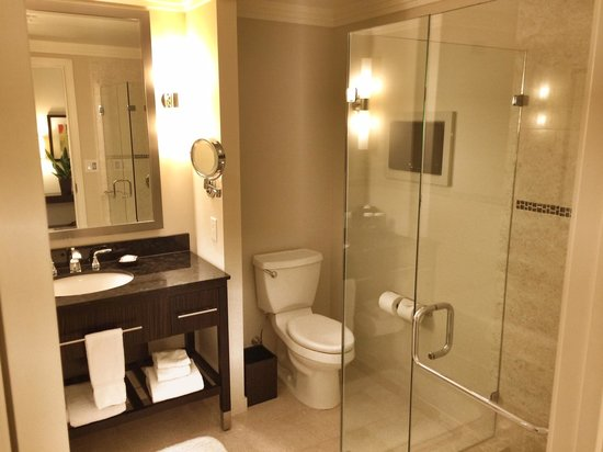Loews Atlanta Hotel: another view of the bathroom