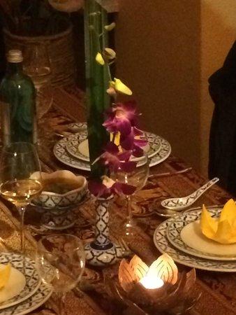 Thai-Restaurant DAO by Meo: Tischdekoration im DAO