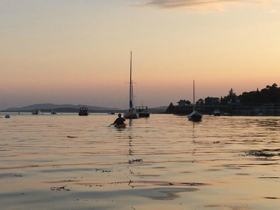 Castine, ME: Kayaking into the sunset