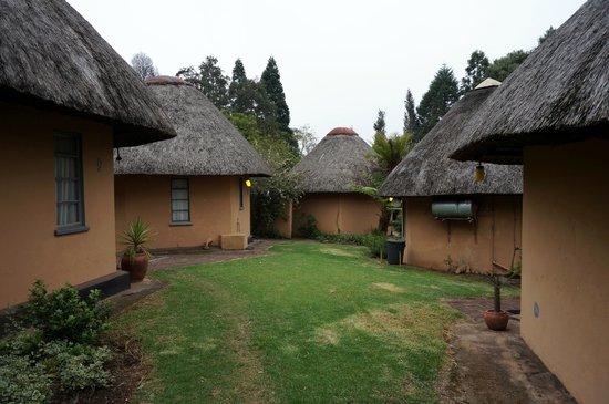 Summit Lodge: huttes