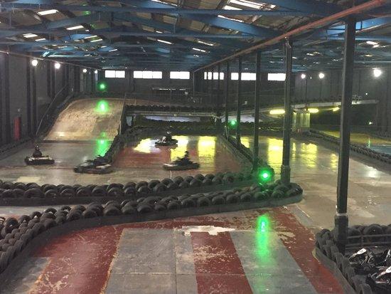 TeamSport Go Karting Brighton: Track