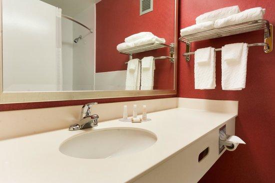 Baymont Inn & Suites Salem Roanoke Area: Baymont bathroom