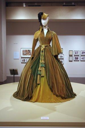 Harry Ransom Center: The green curtain dress