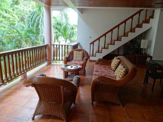 Pinjalo Resort Villas: A good area to entertain