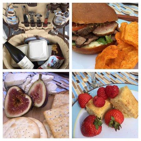 The Ashby Inn: Charcuterie lunch basket