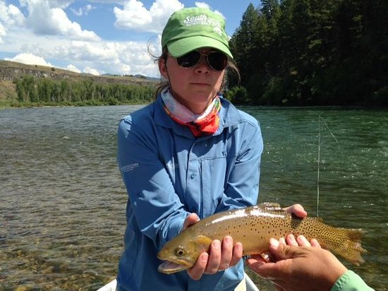 Natural Retreats South Fork Lodge: Beautiful scenery & great fishing!