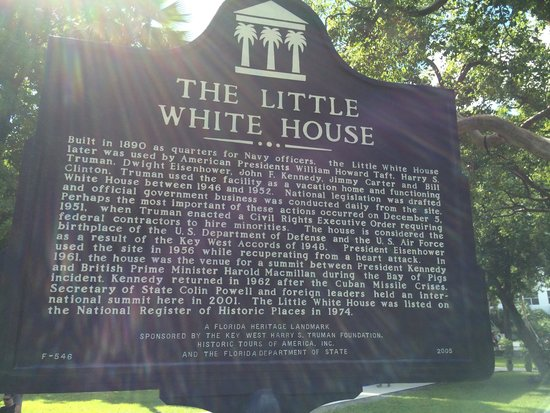 Harry S. Truman Little White House: Entrance to the Truman Little White House