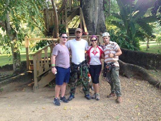 Bocawina Adventures & EcoTours Ltd.: Our Guides:  Tony & Hugo