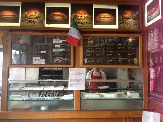 Margy Burger: Margy burger- Milan