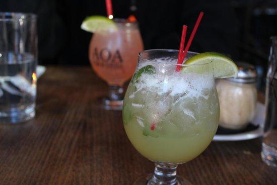AOA Bar and Grill: De superbes cocktails.