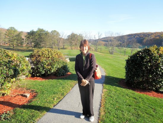 Cacapon Resort State Park : Me on path