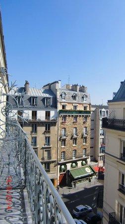 Hotel Quartier Latin: desde  el balcon