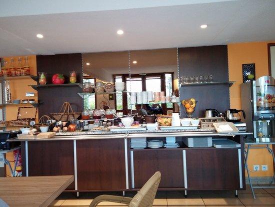 Logis Novalis : Buffet Colazione
