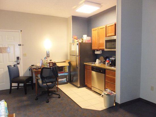 Homewood Suites New Orleans: The Kitchen